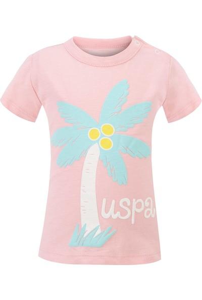 U.S. Polo Assn. Kız Bebek T-Shirt 50205150-Vr019