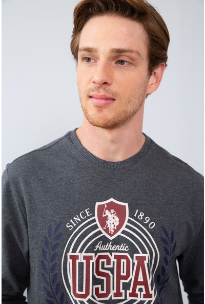 U.S. Polo Assn. Erkek Sweatshirt 50215615-Vr128