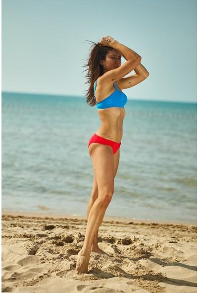 ZiButik Kırmızı Victoria Bikini Altı