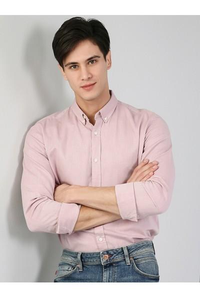 Colin's Pembe Uzun Kol Erkek Gömlek