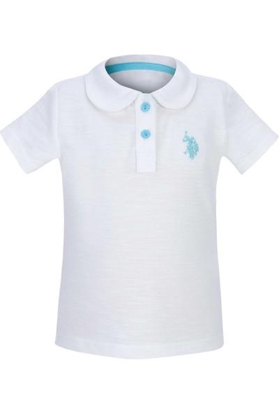 U.S. Polo Assn. Kız Bebek T-Shirt 50205069-Vr019