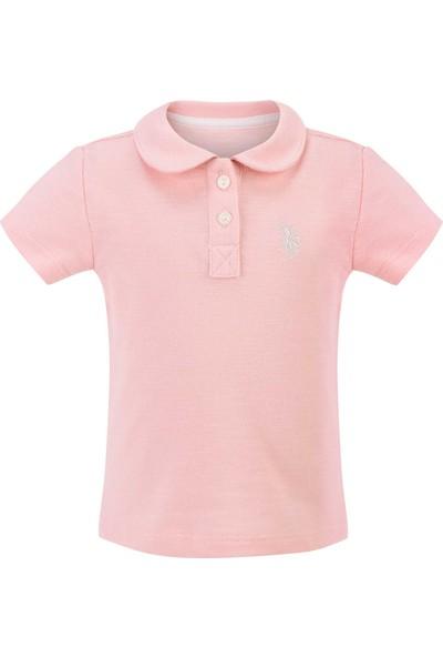 U.S. Polo Assn. Kız Bebek T-Shirt 50205069-Vr041