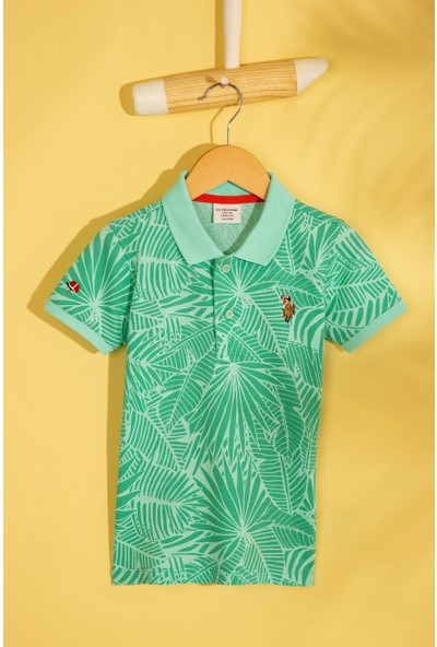 U.S. Polo Assn. Erkek Cocuk T-Shirt 50206217-Vr090