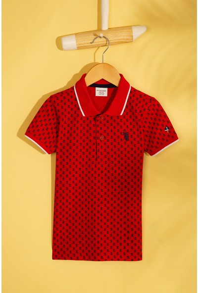 U.S. Polo Assn. Erkek Cocuk T-Shirt 50206274-Vr030