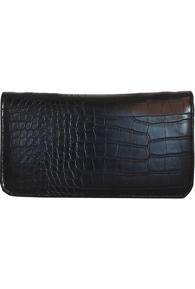 Coquet Coquet Siyah Kadın Cüzdan -Para Çantası (Lrs701)