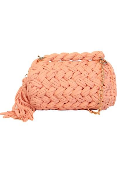 Avi Bags El Örgüsü Kadın El Çantası (Lrs108)