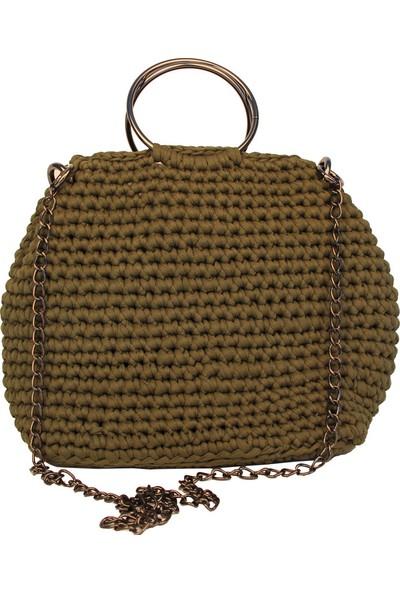 Avi Bags El Örgüsü Kadın El Çantası (Lrs109)