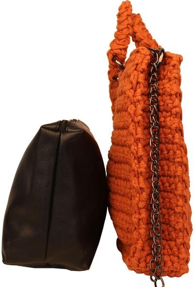 Avi Bags Omuz Örgüsü Kadın Omuz Çantası (Lrs110)