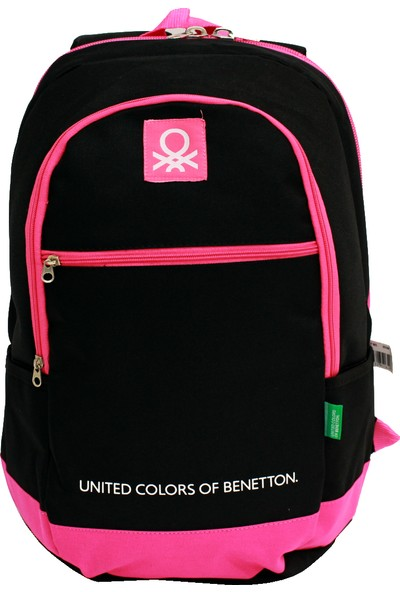 United Colors Of Benetton Bntt 95184 Siyah Sırt Çantası