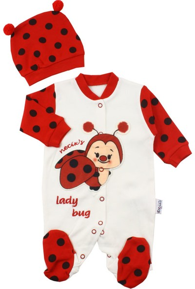 Baby World Uğur Böcekli 2 Li Tulum