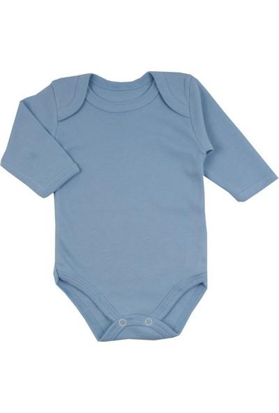 Baby World Duz Renk Uzun Kollu Body