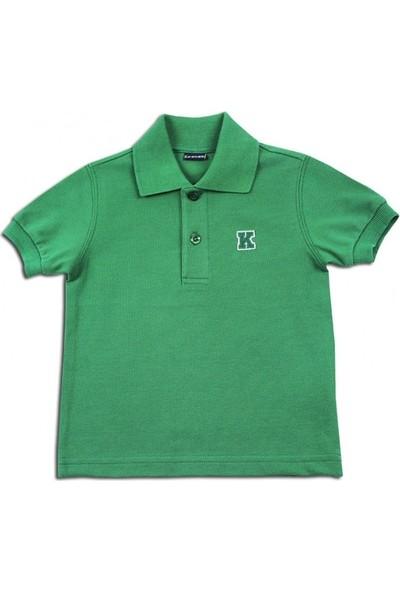 Karamela Çocuk Kısa Kollu Polo Pike T-Shirt