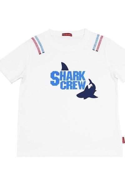 Karamela Erkek Çocuk Shark Crew T-Shirt