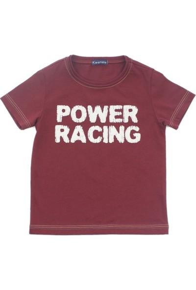 Karamela Erkek Çocuk T-Shirt Power Racing