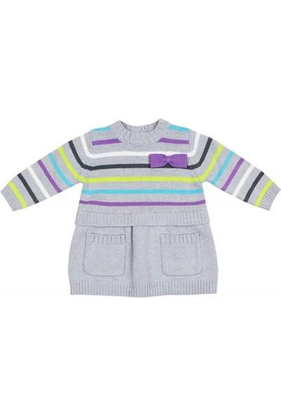 Tuc Tuc Kız Çocuk Triko Elbise Paris Oh La La