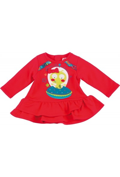 Tuc Tuc Kız Çocuk Elbise Ufo