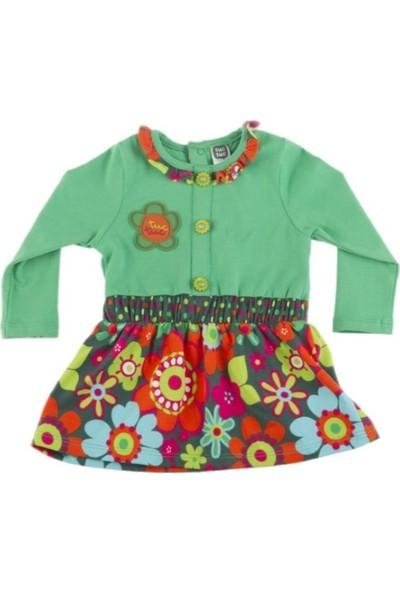 Tuc Tuc Kız Çocuk Çiçekli Elbise John & Jeena