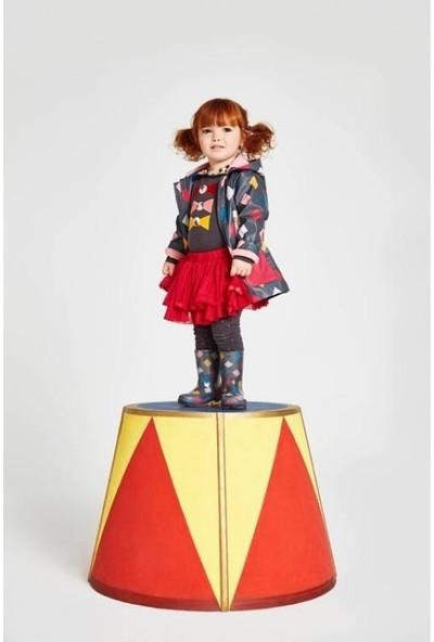 Tuc Tuc Kız Çocuk Yağmurluk Funny Circus