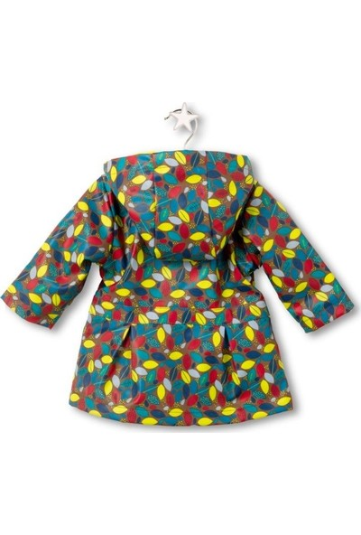 Tuc Tuc Kız Çocuk Yağmurluk Pachamama