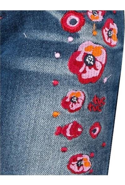 Tuc Tuc Kız Çocuk Kot Pantolon Fish Rain