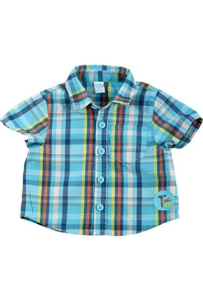 Tuc Tuc Erkek Çocuk Gömlek Blue Sea Hawai