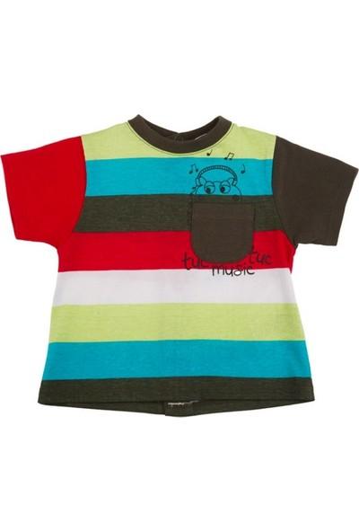 Tuc Tuc Erkek Çocuk Çizgili T-Shirt Radio