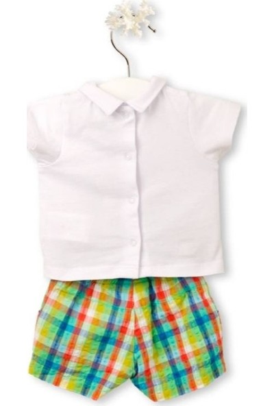 Tuc Tuc Erkek Bebek Polo Yaka T-Shirt Şort Takım Croak