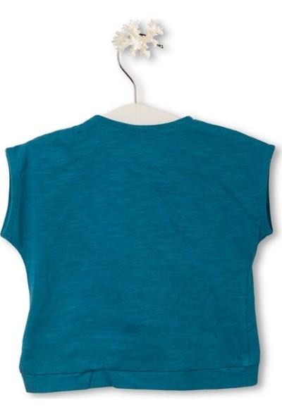 Tuc Tuc Kız Çocuk Kısa T-Shirt Maui Island