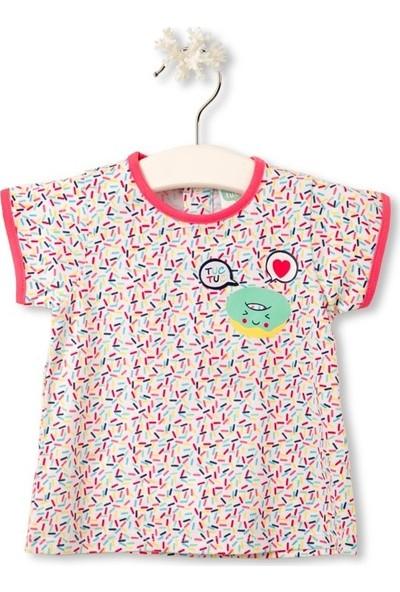 Tuc Tuc Kız Çocuk T-Shirt Yummy