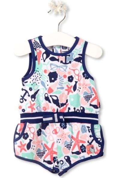 Tuc Tuc Kız Çocuk Tulum Baby Sailor