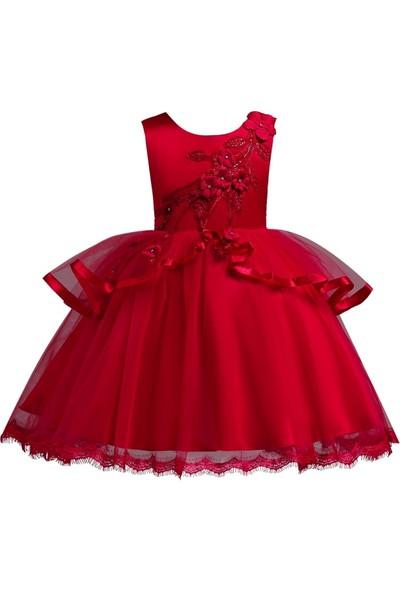 GOB2C Yazlık Tutu Parti Kız Çocuk Elbise