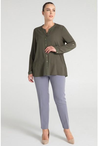 Pera Club 10L9B13259 Kadın Basic Gömlek