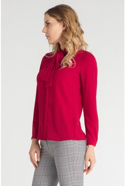 Pera Club 10W9B12206 Kadın Flarlı Gömlek