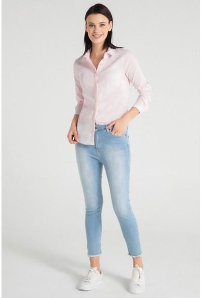 Pera Club 10W9B27212 Kadın Basic Gömlek