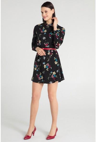 Pera 30W9E12218 Kadın Tunik Elbise