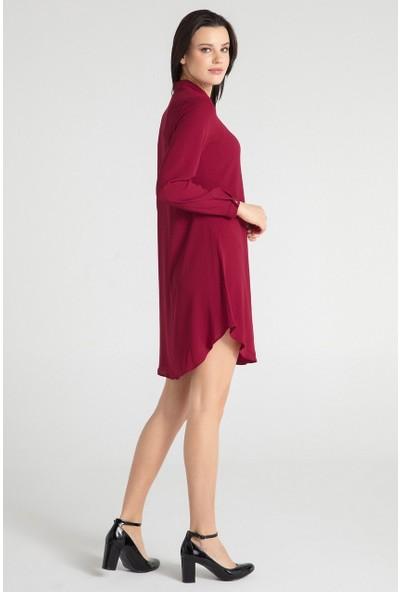 Pera 30W9E23188 Kadın Tunik Elbise