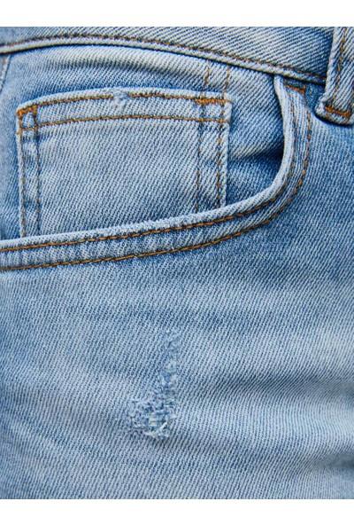 LTB Caren Wide Wash Kadın Jeans Şort