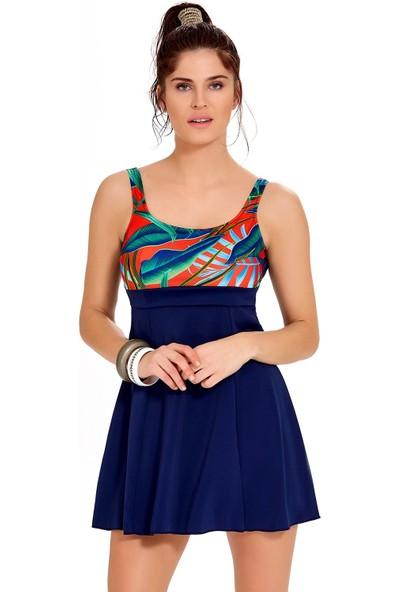 Argento Kadın Elbiseli Mayo