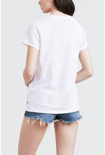 Levi'S Perfect Tee New Red Box Tab