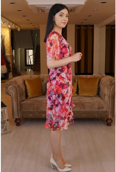 Springstore Çiçek Desenli Elbise