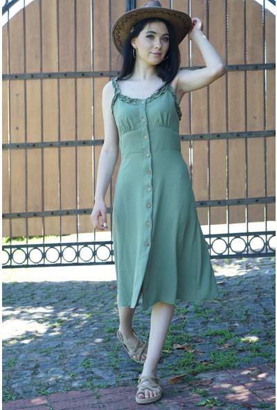 Springstore Çiçekli Elbise
