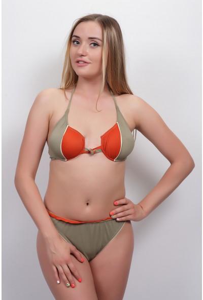 Marka Kadın Düz Bikini 1193