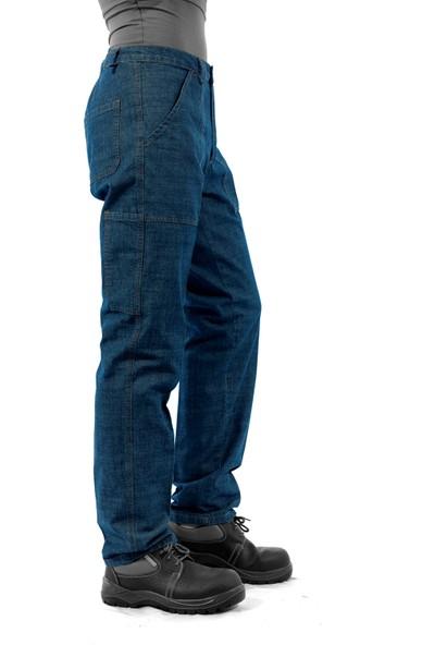 Şensel Yazlık Kot İş Pantolonu