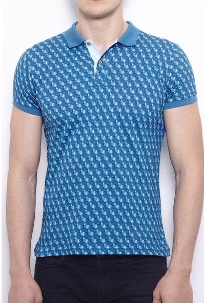 Port Royale Erkek Dijital Baskılı Polo T-Shirt