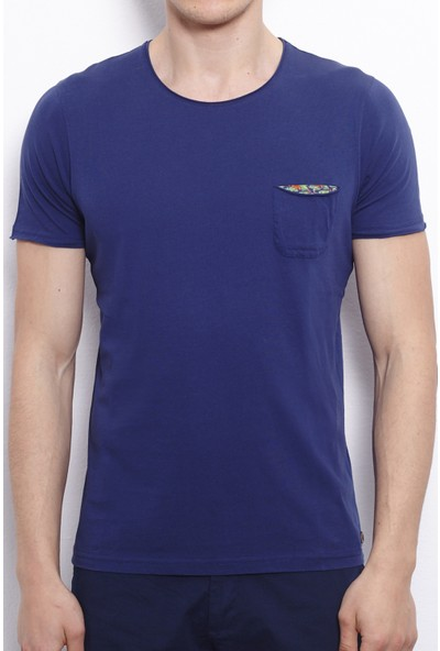 Port Royale Erkek Elişi Nakışlı T-Shirt