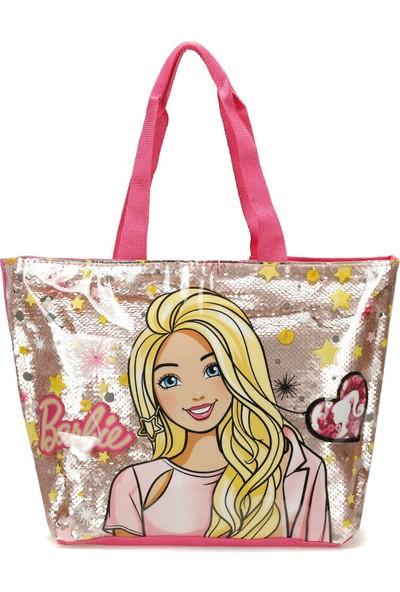 Barbie 84819 Pembe Kız Çocuk Plaj Çantası