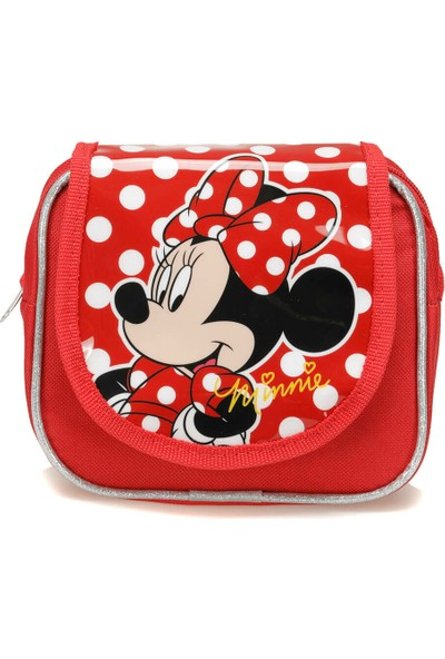 Minnie Mouse 84846 Kırmızı Kız Çocuk Çapraz Çanta