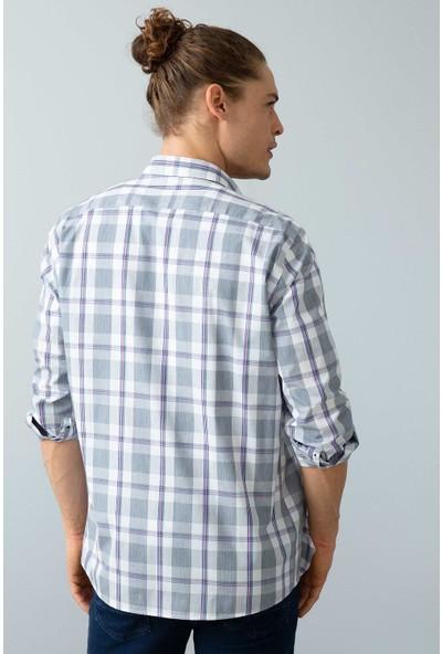 U.S. Polo Assn. Erkek Dokuma Gömlek 50199760-Vr033