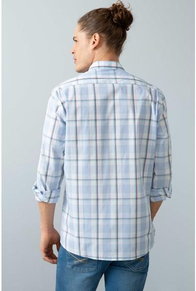 U.S. Polo Assn. Erkek Dokuma Gömlek 50199760-Vr003