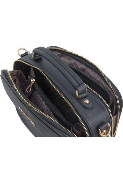 Los Angeles Polo Club 6341 Uzun Askılı Kadın Çantası Siyah